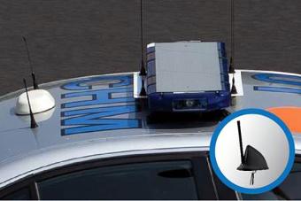 Antena móvil multibanda