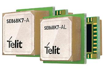 Módulos GNSS ultra-compactos con antena integrada
