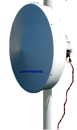 Radios backhaul de 80 GHz