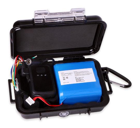 Localizador GPS portátil e impermeable