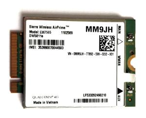 Módulo LTE con capacidades GNSS y eUICC