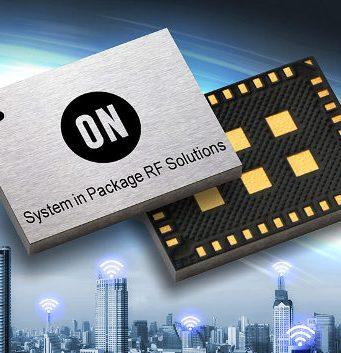 SiP transceptor RF programable para diseños IoT