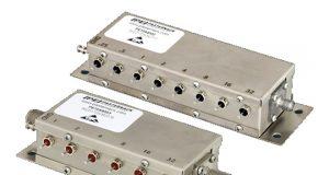 Atenuadores programables controlados por relé