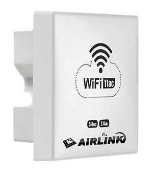 Punto de acceso Wi-Fi montado en pared