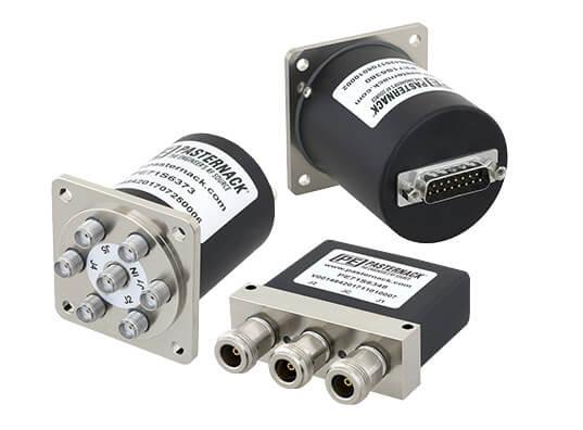 Switches de relé electromecánico con conectores D-Sub