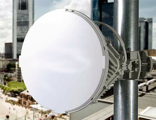 radios inalámbricas full duplex de 10 Gbps