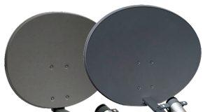 Antenas de plato con reflector de 5 GHz