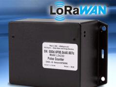 Medidor de datos por LoRaWAN