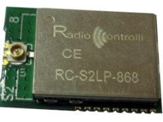 Módulo transceptor de radiofrecuencia