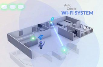 Punto de acceso Wi-Fi Mesh para interior