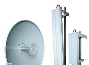 Antenas para frecuencias de 2,3 a 6,4 GHz
