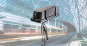 Antena de cinco puertos para aplicaciones ferroviarias