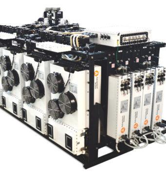 Sistema modular de emisión en la banda Ku