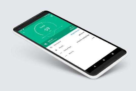 App de diagnóstico de la red Wi-Fi