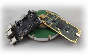 Receptor GNSS de cuatro canales