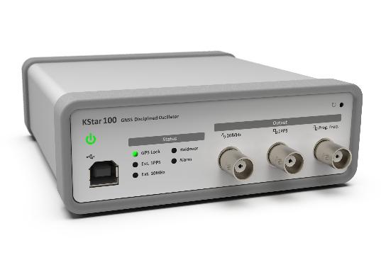 Oscilador GNSS ultra estable