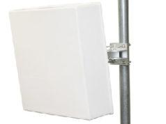 Antena de panel plano para aplicaciones TVWS