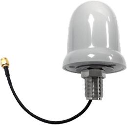 Antena exterior tipo seta IP67 y NEMA6 para LoRa