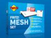 Kit router + repetidor Mesh