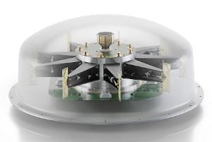 Antena automática precisa para señales entre 10 MHz y 8 GHz