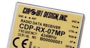 Transmisor y receptor industrial de banda estrecha UHF