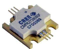 Amplificadores MMIC GaN de potencia
