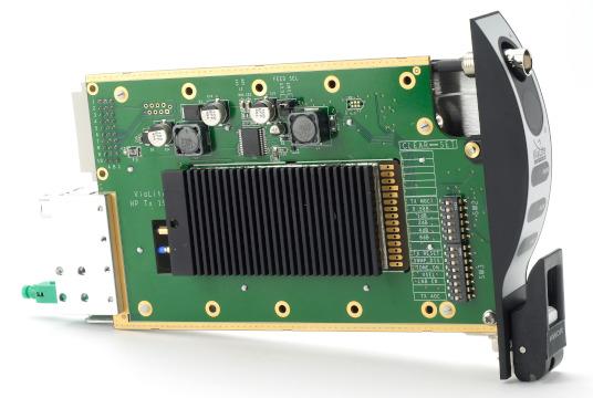 Tarjetas RF sobre fibra óptica