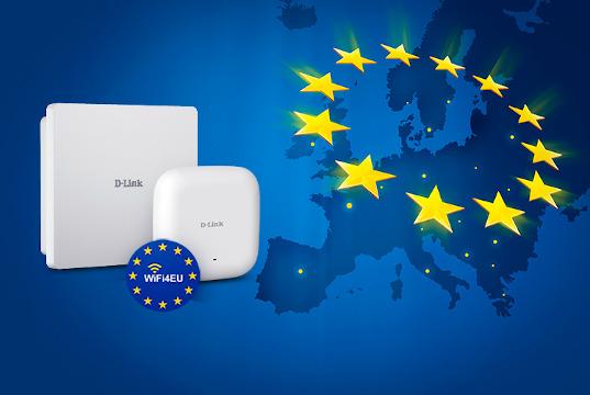 Puntos de acceso certificados para WiFi4EU