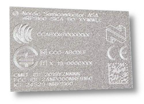 SiP con LTE y GPS incorporados y compatibles