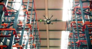 Gestión de almacenes con tecnología RFID y uso de drones
