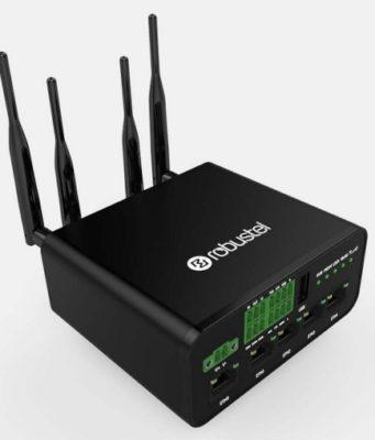 Router VPN celular para usos industriales con doble SIM