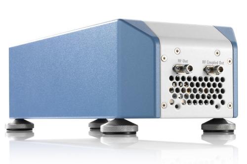 Convertidor de RF ascendente de banda Q/V para probar satélites