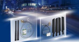Kits inalámbricos Wi-Fi 5/BT 5.0 y LTE Cat.16