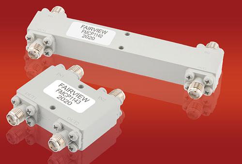 Acopladores híbridos RF para aplicaciones de banda ancha