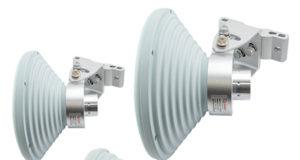 Antenas de bocina para frecuencias de 4,9 a 6,4 GHz