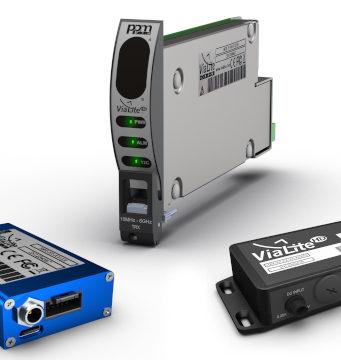 Conversor de RF sobre enlace de fibra óptica