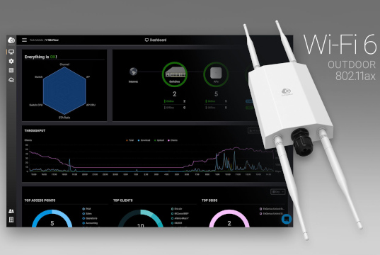 Punto de acceso con gestión Cloud Wi-Fi 6 para exteriores