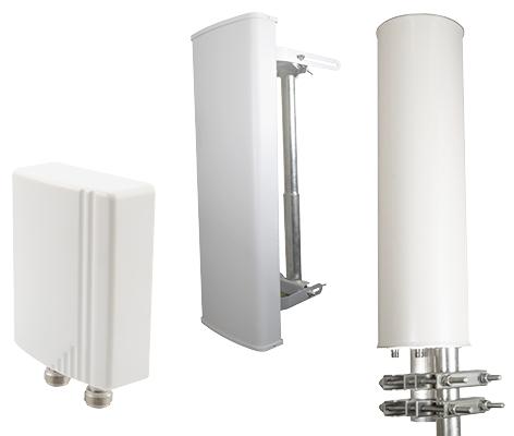 Antenas con diseño robusto y económico en diferentes modelos