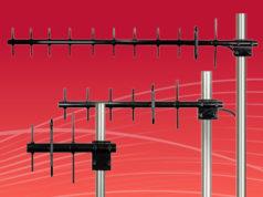 Antenas Yagi para empresas de servicios públicos