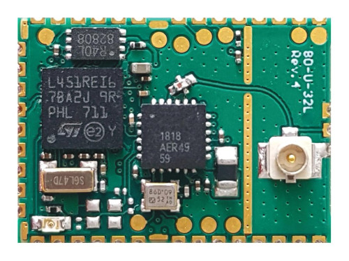 Módulo transceptor LoRa de 2,4 GHz de bajo coste