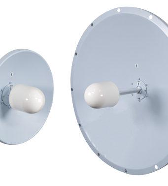 Antenas parabólicas de 3,5 GHz con diseño robusto
