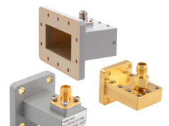 Adaptadores de guías de onda a coaxial con pestañas IEC