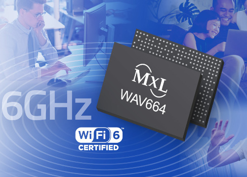 WAV664 SoC con la certificación Wi-Fi 6E Test Bed de la Wi-Fi Alliance