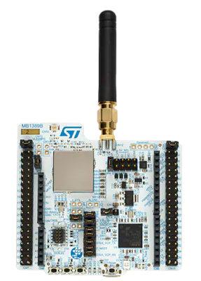 Tarjetas STM32WL Nucleo-64 con capacidad LoRa