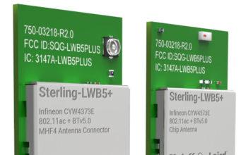 Módulo Wi-Fi+Bluetooth Sterling-LWB5+