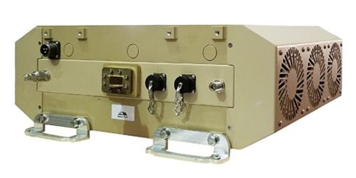 Taurus X SSPA/BUC de 800 y 100 W para aplicaciones militares
