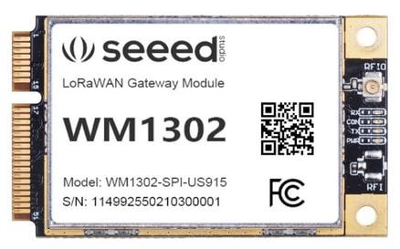 Módulo gateway LoRaWAN WM1302
