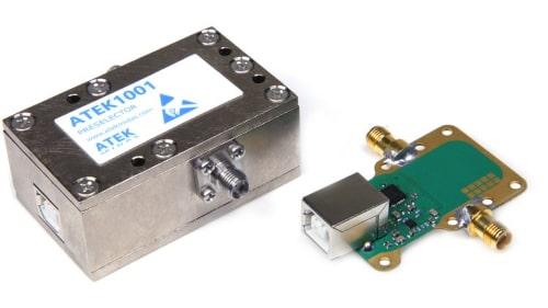 Preselector definible por software para SDRs ATEK1001