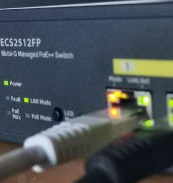 Laboratorio de pruebas: Switch ECS2512FP + punto de acceso ECW230 de EnGenius