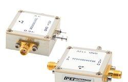 VCOs con encapsulado coaxial para amplias bandas de frecuencia